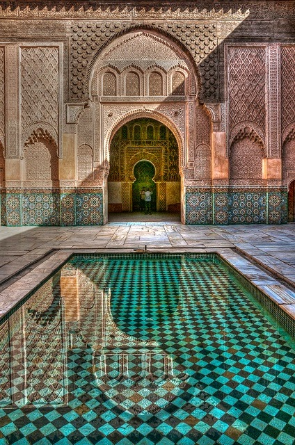 Tile Design Moroccan Style Checkerboard