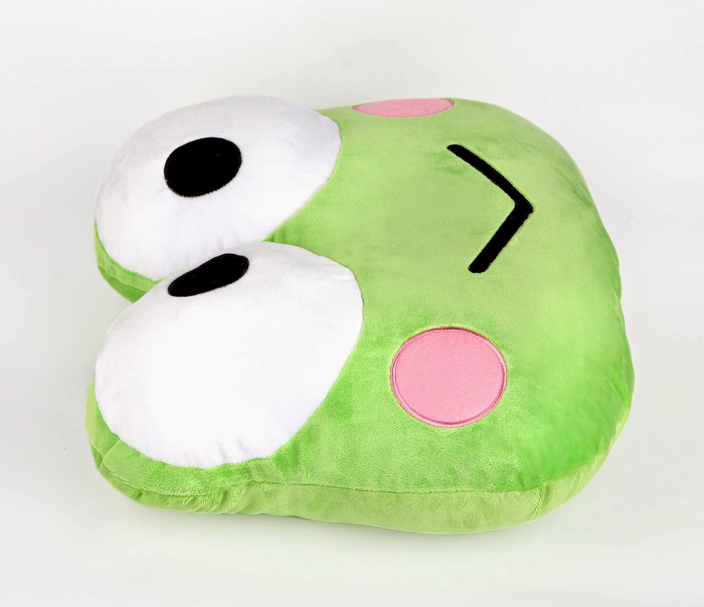 Sanrio character cushions keroppi