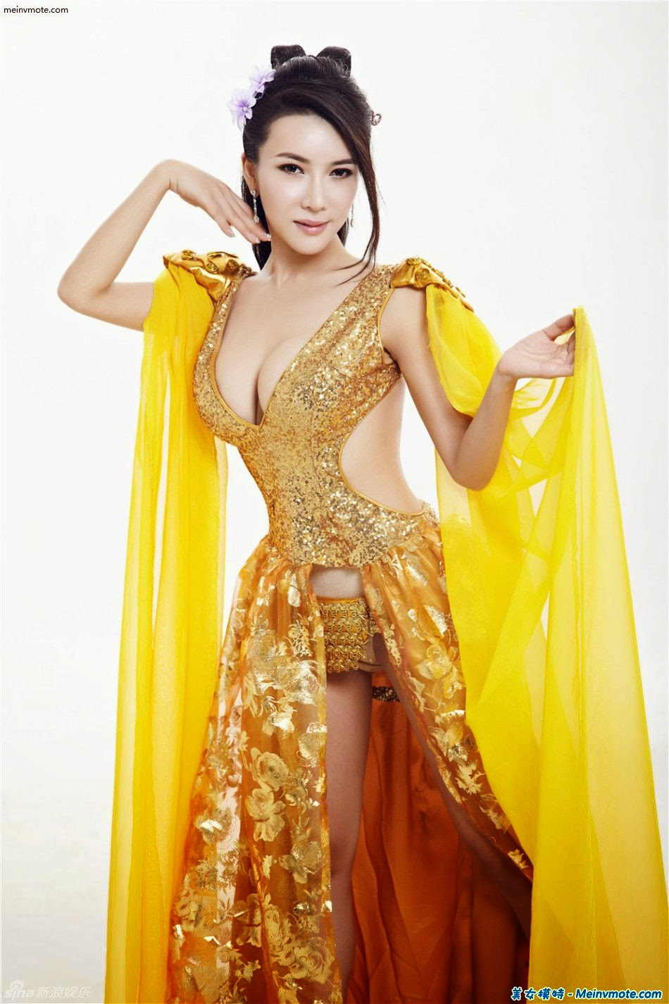 Gong Yue Fei Fung costume exposure