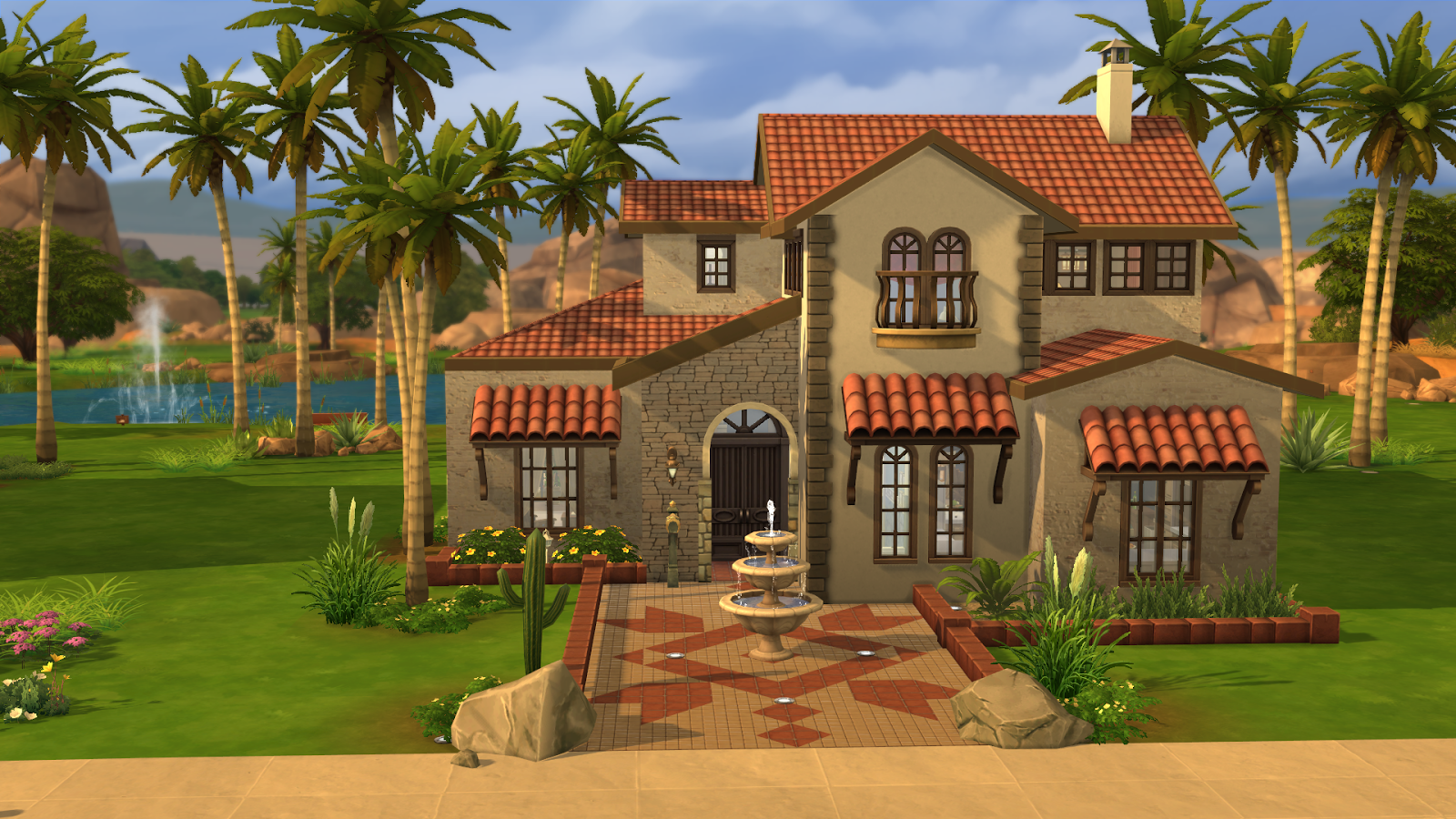 My sims 4 blog villa california by ruth kay for Villas california