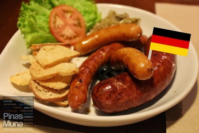 German Sausage Sampler by Poco Deli Kapitolyo