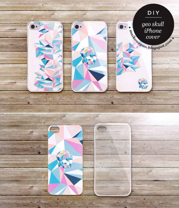 Maiko nagao diy free iphone 4 5 cover design for Homemade iphone case