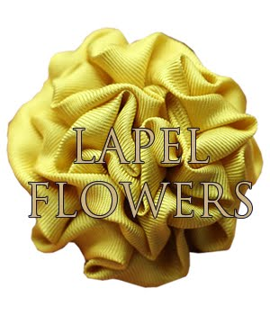 Silk Lapel Flowers