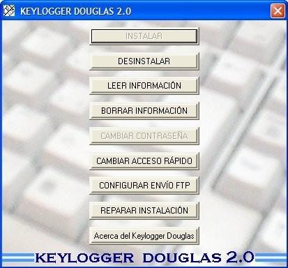 Keylogger Douglas Grabar Pulsaciones De Tu Teclado