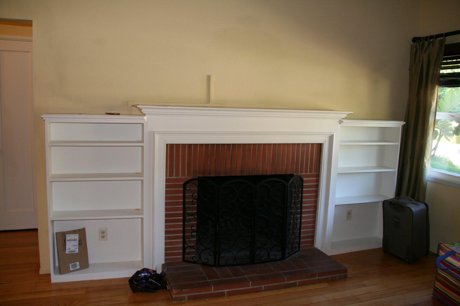 Living Room Progress title=