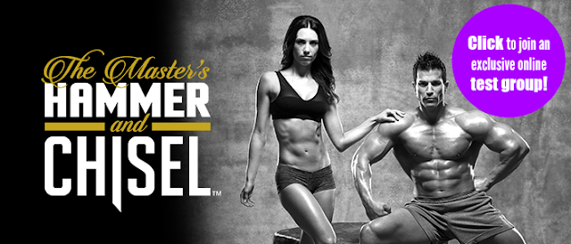 Masters hammer and chisel, Autumn Calabrese, Sagi Kalev, strength training, home workout, Brenda Ajay, 21 Day Fix, Body Beast, build muscle, test group, online fitness group