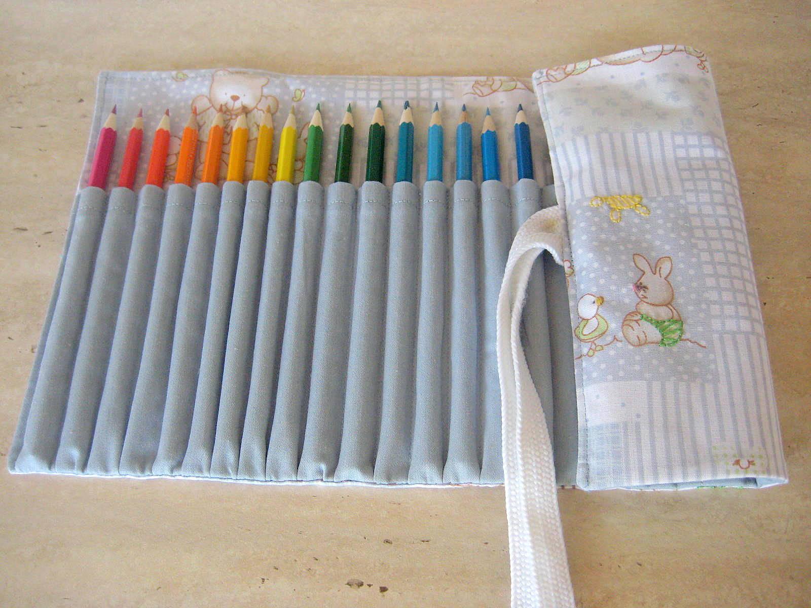 Чехол для карандашей своими руками