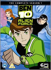 Ben 10 Força Alienigena 1ª Temporada Completa Dublada