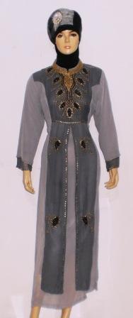Gamis Glamour Gp030 Grosir Baju Muslim Murah Tanah Abang