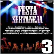 capa CD CD Festa Sertaneja 3 2012