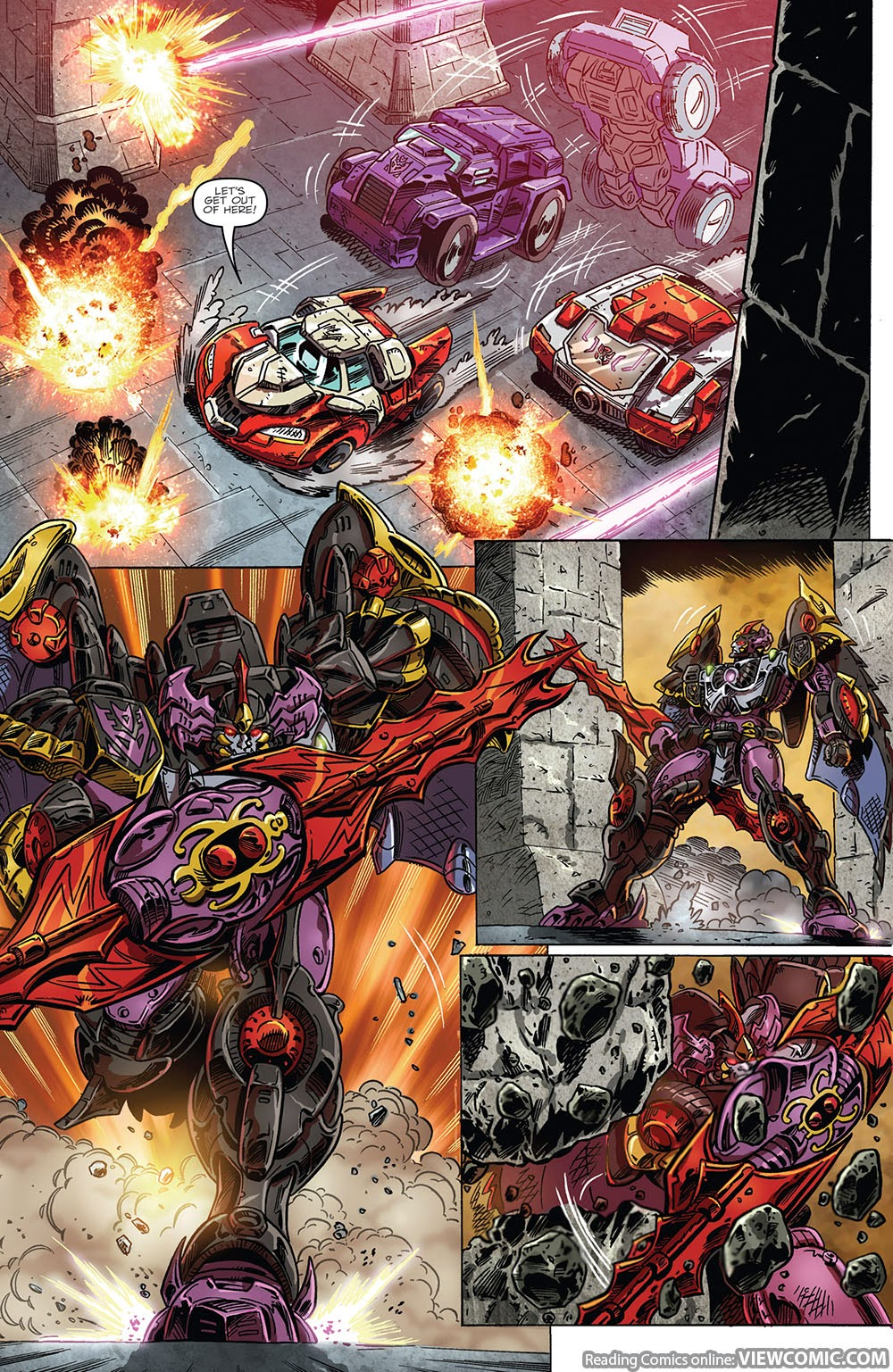 the transformers drift empire of stone 02 2014 reading