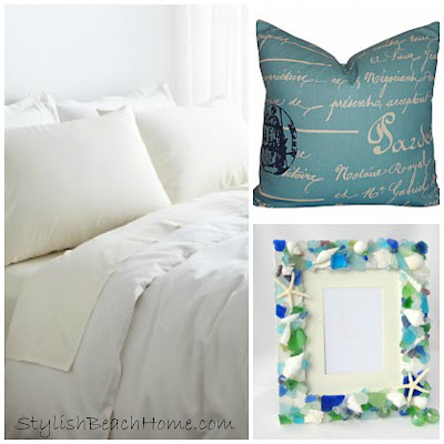 beach bedroom accessories