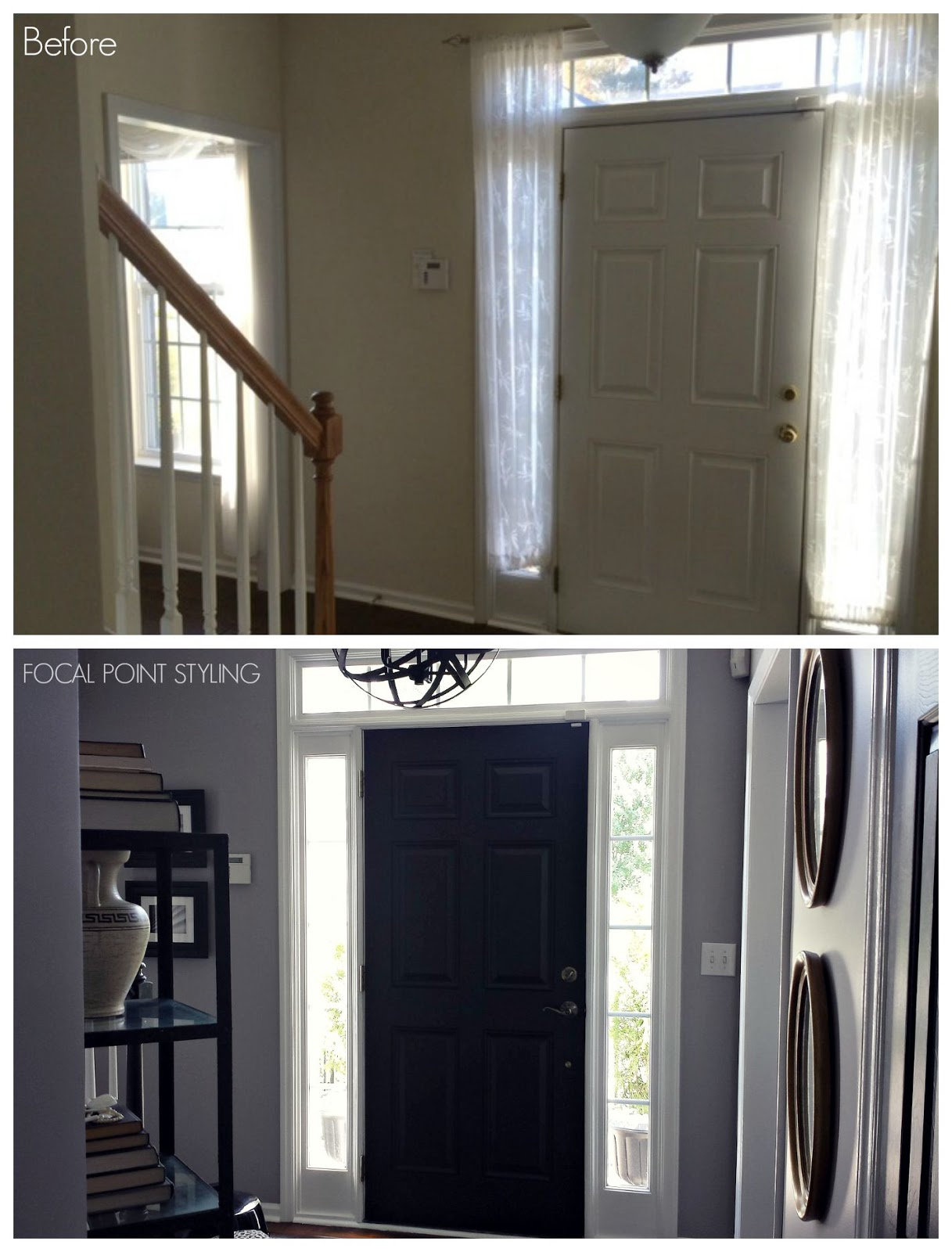 How To Paint Interior Doors Black U0026 Update Brass Hardware