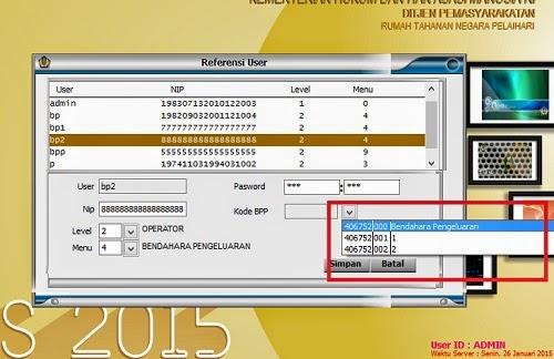 Pemilihan kode BPP Silabi