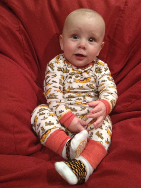 Yellow Submarine PJs from PsychoBabyOnlineDOTcom