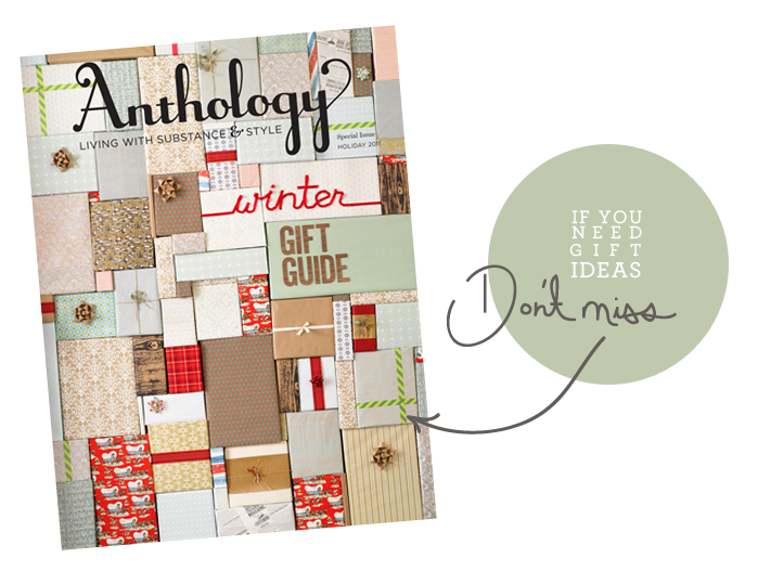 anthropologie, anthology magazine, holiday gift guide, DIY, Christmas gifts, Anthology, Anthology Gift Guide, Joy Cho