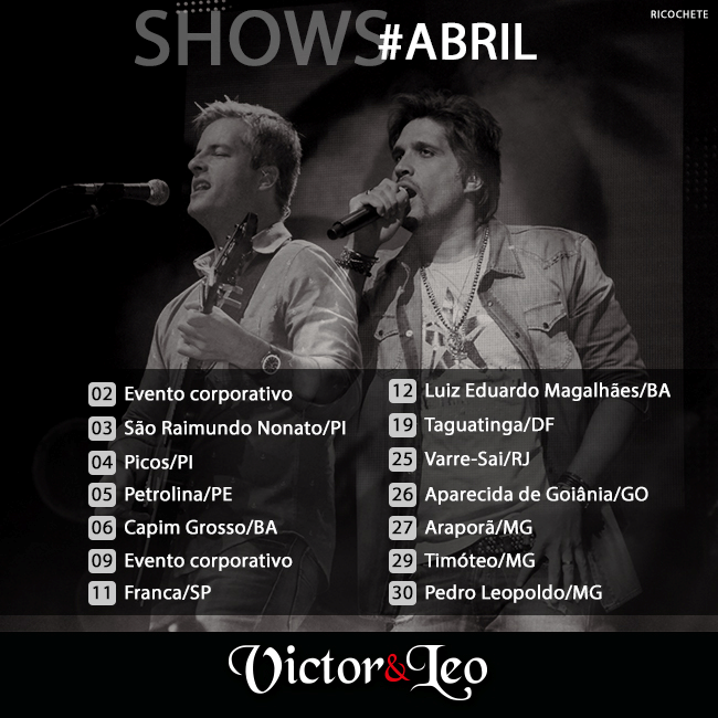 Shows#Abril