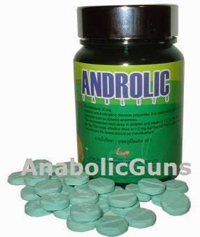 AnabolicGuns: Androlic British Dispensary 50mg 100's - RM280