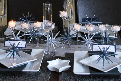 Hanukkah tablesettings