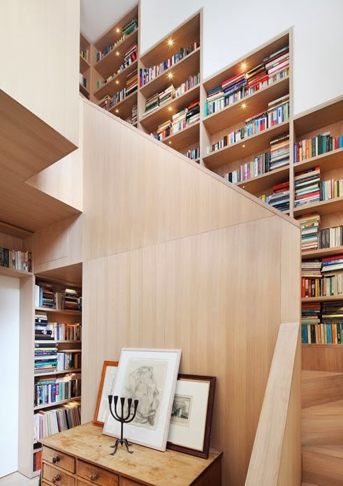 137 best images about idee per la casa, scale on pinterest ... - Libreria Con Scala Paint Your Life