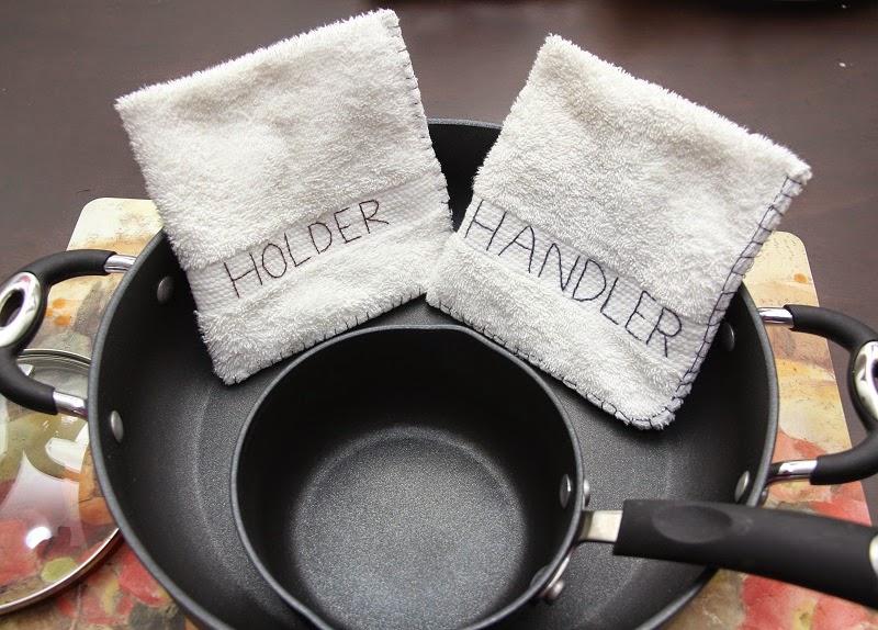 Pot Holder and Pan Handler