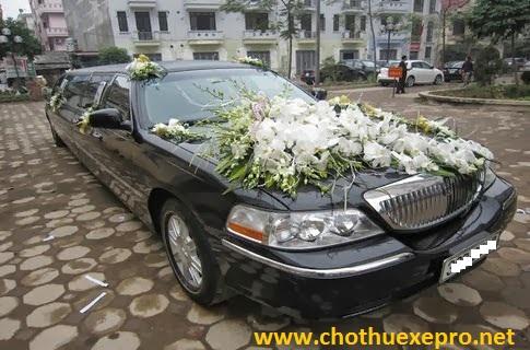 Cho thuê xe cưới Chryler Limosin tại Hà Nội