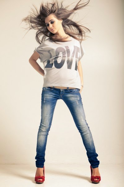 Sexy girls in skinny jeans