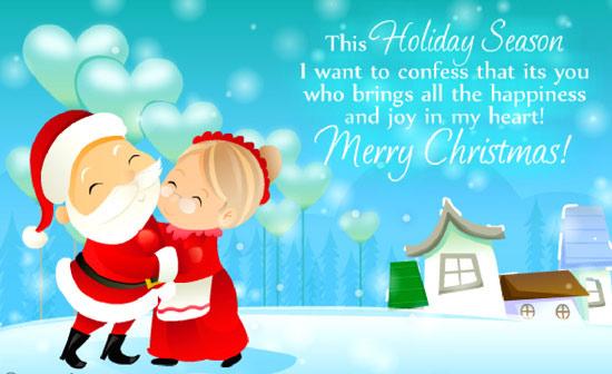 Santa Claus Merry Christmas Greetings Wallpapers