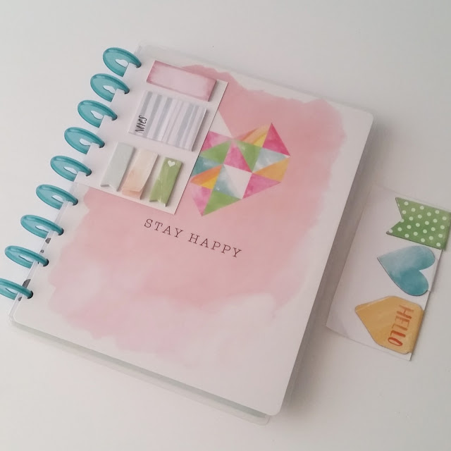 lanes-loves-stay-happy-happy-planner-box-kit-front-cover-sticky-notes-magnetic-page-markers