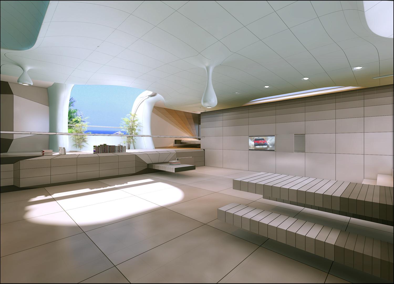 Finalist of the 5th architecture and interior design awards y encima el mar by hector romero