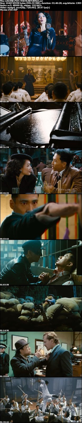 Capturas - Legend of the Fist: The Return of Chen Zhen