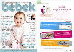Anne Bebek Dergisi'ndeyim