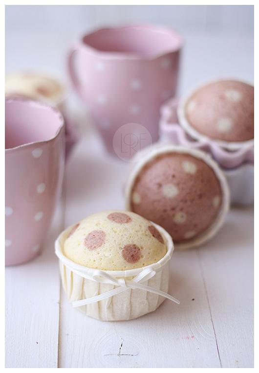 polka dot cupcakes