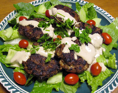 ktzitzot Sephardic Jewish meat patties