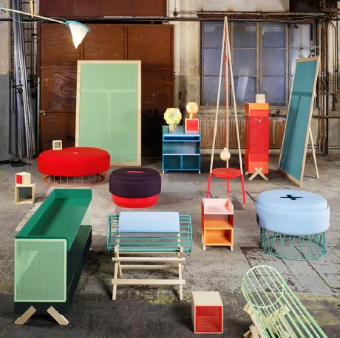 colorful furniture Note Design Studio