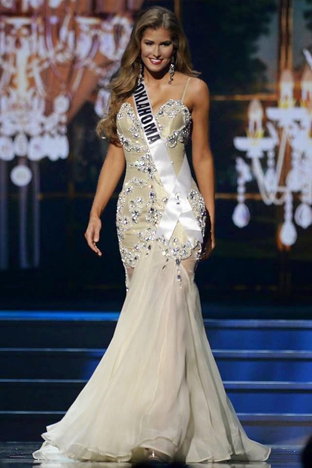 SASHES AND TIARAS..Miss USA 2014 Preliminaries Evening
