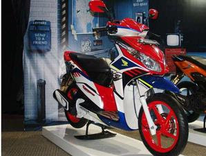 the young recipients, recently launched Vario Techno PT Astra Honda