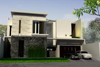 Fasad Rumah Minimalis 6