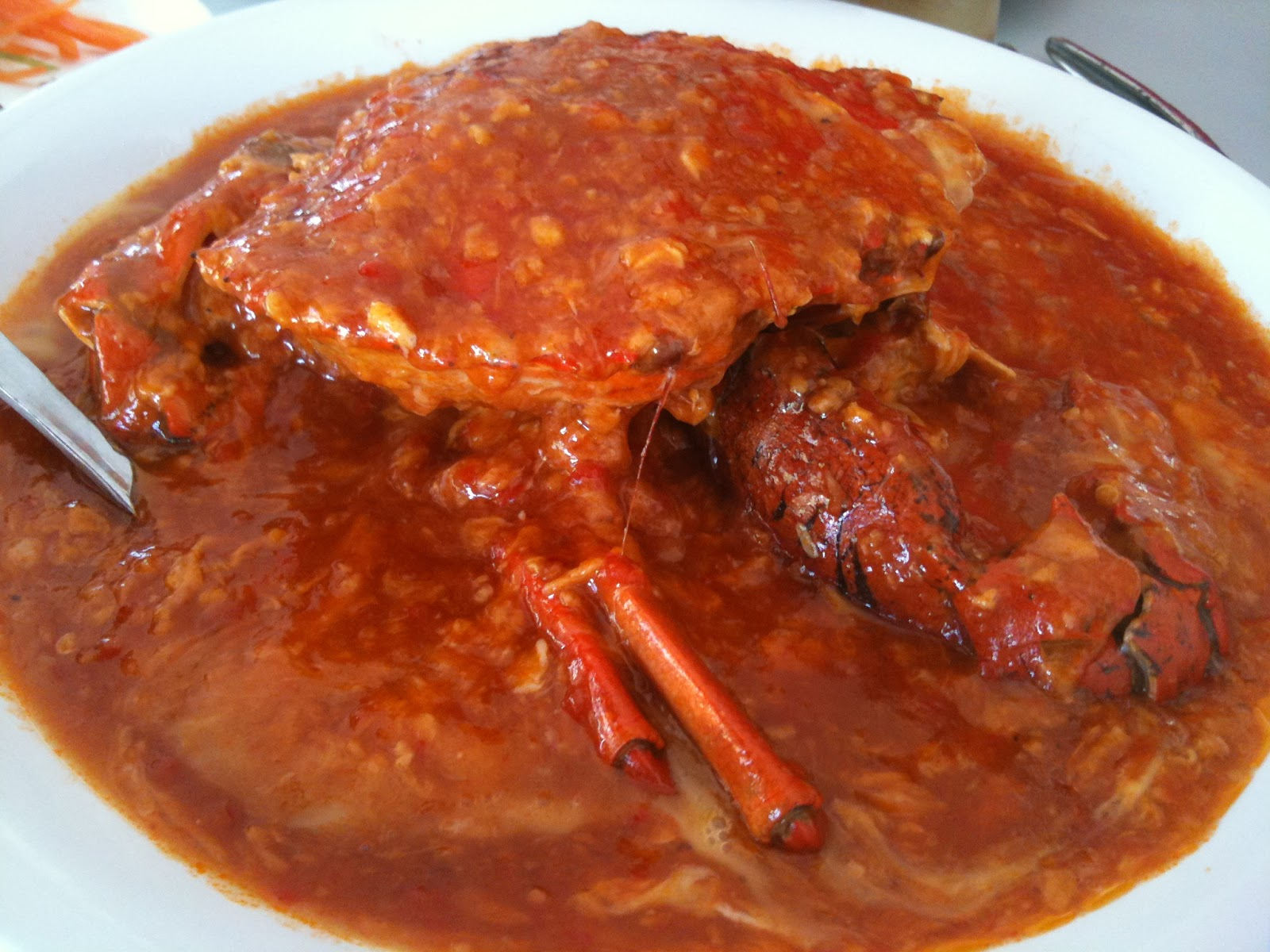 Our Taste of Life: Best Chili Crab in Singapore