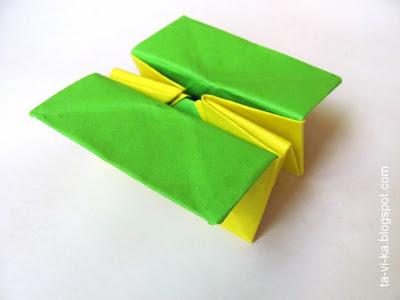 оригами-коробочка