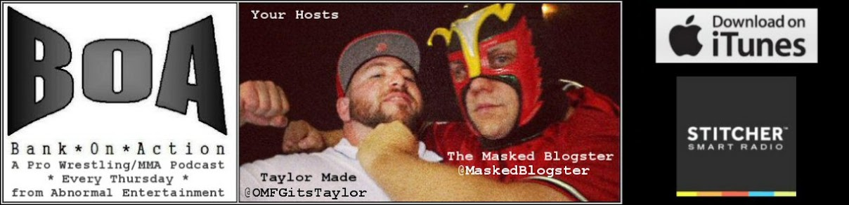 Bank On Action with Taylor Made and Masked Blogster