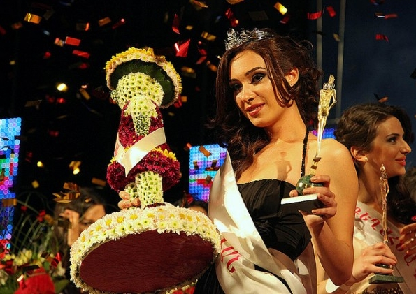 Miss Armenia Hayastan Միսս Հայաստան 2012 winner Anna Arakelyan