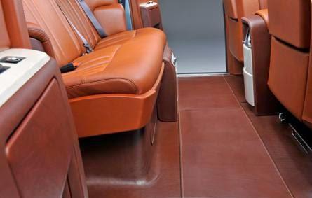 Rolls Royce 102EX Interior Image