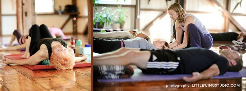 Restorative Yoga - Feeling the Bliss