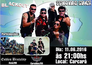 BLACKOUT, ENDLESS BRUTALITY E ROCK DRINKERS
