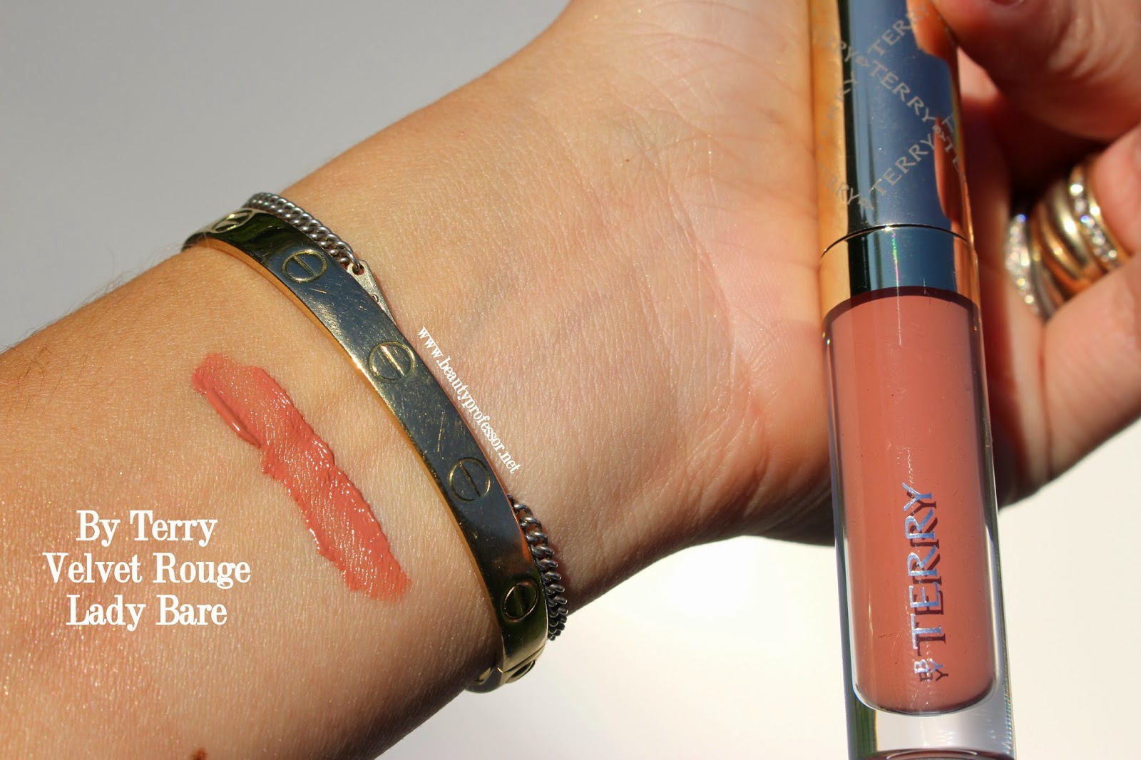 by terry velvet rouge lady bare swatch