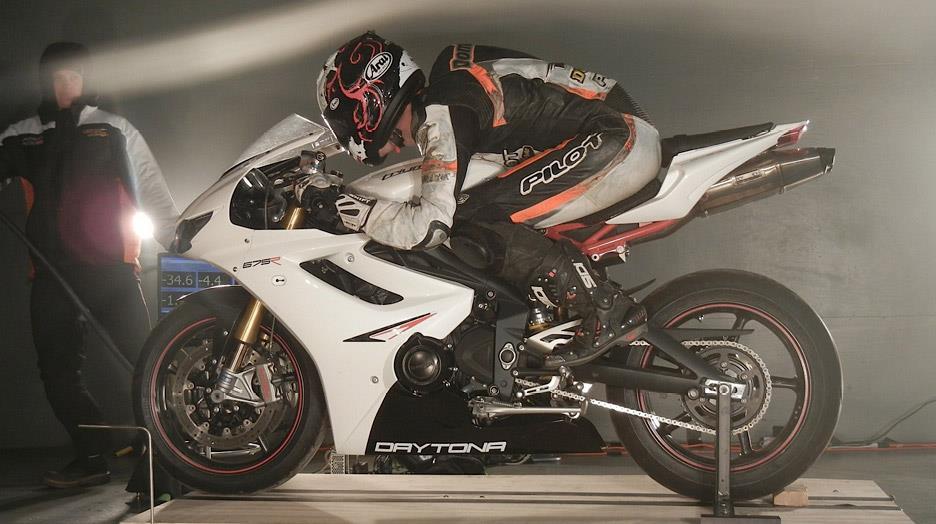 Moto Triumph Hellas Triumph Daytona 675r 2013 Winds Of