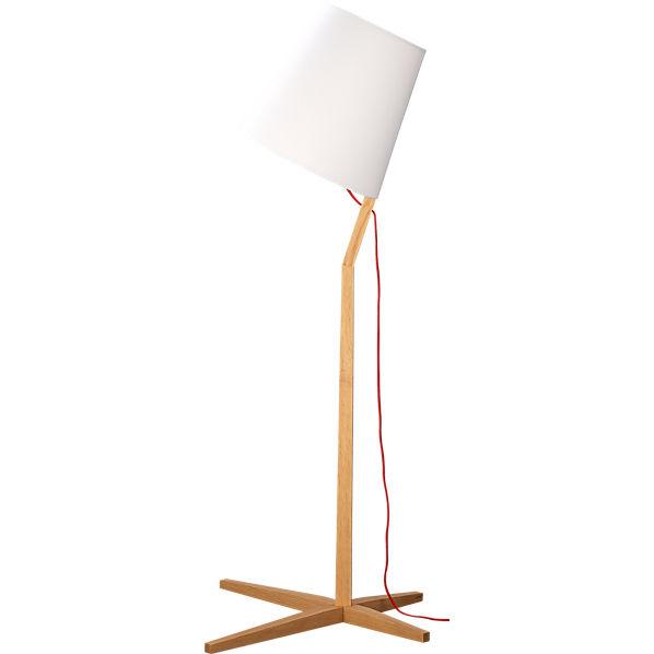 Twine lamp love for Cb2 cast floor lamp