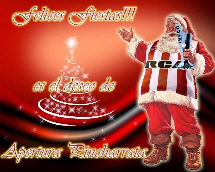 Felices Fiestas a la familia Pincha