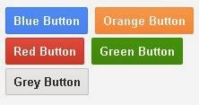 CSS button like google button
